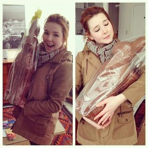 I've given you advice on how to save money, yet here's me after spending 80 euros on this large chocolate rabbit.