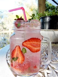 Strawberry & Coconut Cocktail